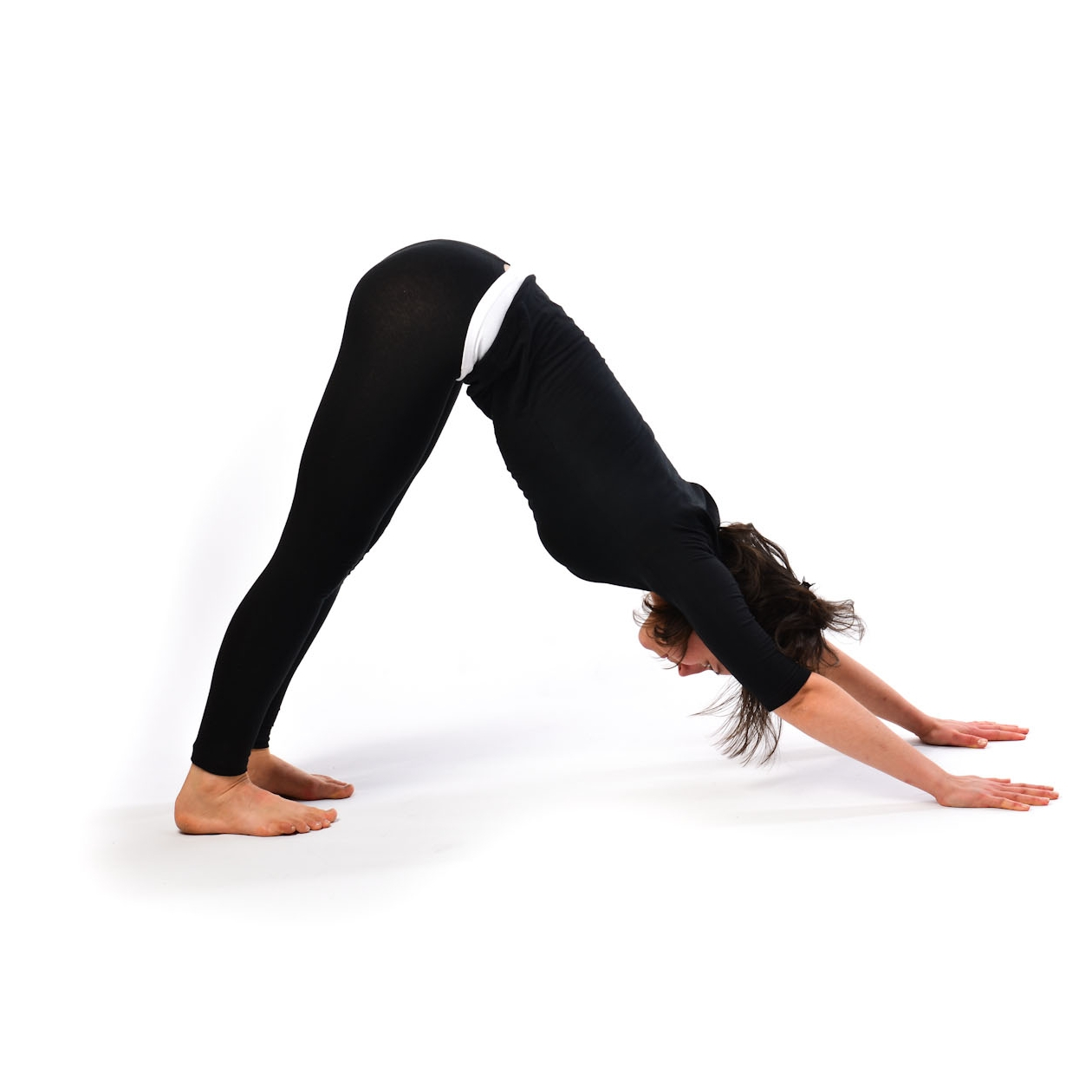 Mountain Pose In Order To Do This Stand Erect On The Ground Touch With Both Your Palms Straighten Legs Gradually