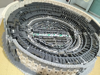 LEGO Colosseum Close up