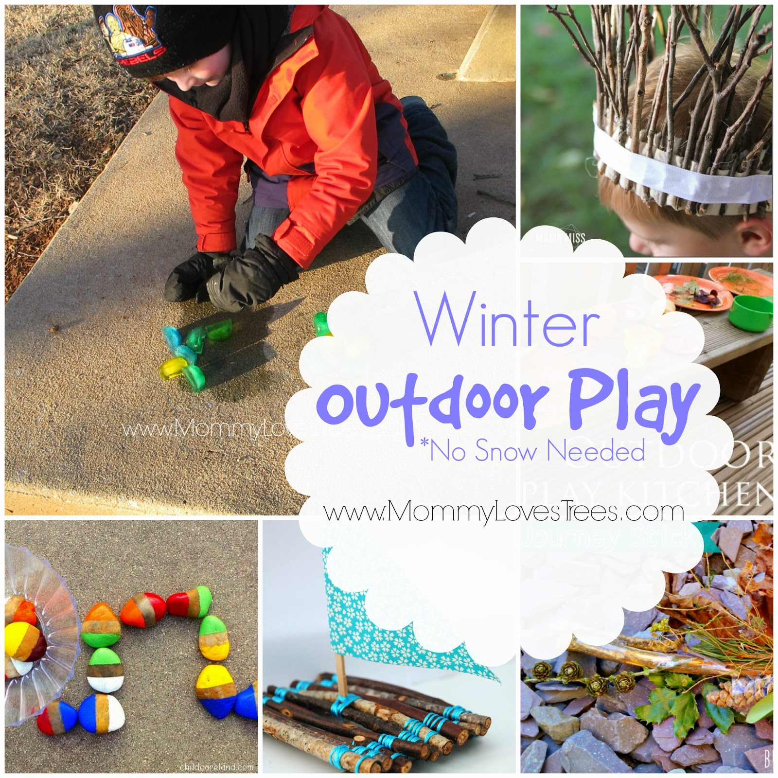 10 Creative Ideas for Outdoor Play in the Winter.