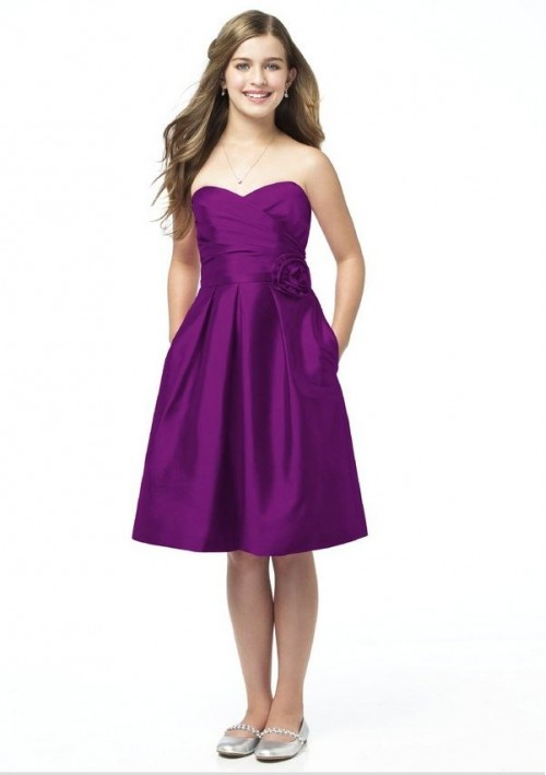 Junior Bridesmaid Dresses For Girls