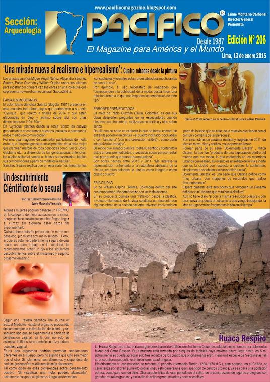 Revista Pacífico Nº 206 Arqueología