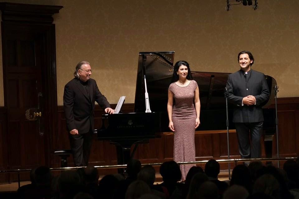 Belen Elvira, Jorge de Leon and Juan Antonio Alvarez Parejo at Rosenblatt Recital at the Wigmore Hall - photo credit Jonathan Rose