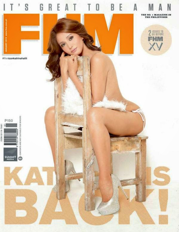 Katrina Halili - FHM, Philippines, January 2015