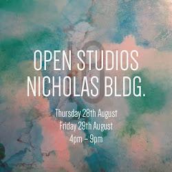 OPEN STUDIOS Nicholas Building 2014