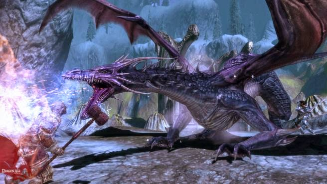 Dragon Age: Origins dragon screenshot