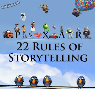 Storytelling, according to Hollywood's Pixar studios