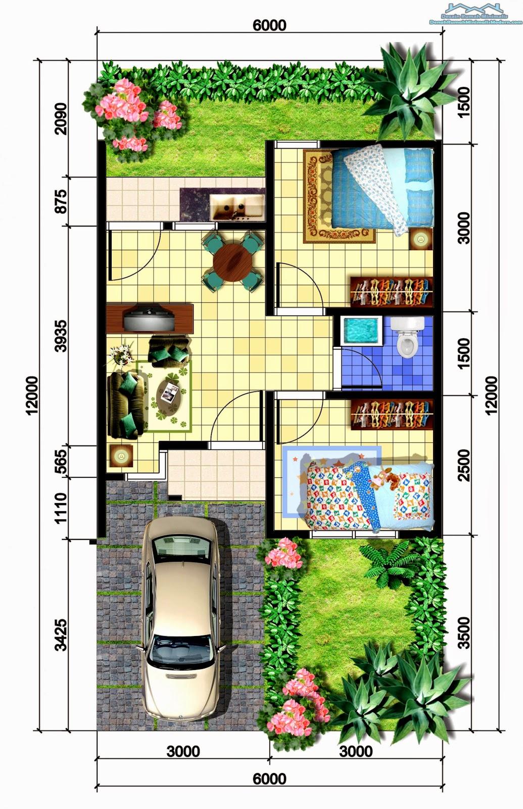 Gambar Dan Denah Rumah Minimalis Modern Design Rumah Minimalis