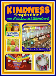 photo of: Kindness Inspiration, Filling Buckets + Emotional Intelligence RoundUP via RainbowsWithinReach