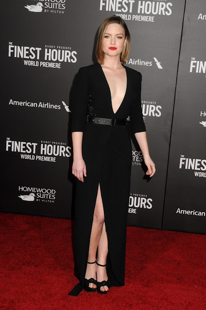 Actress, @ Holliday Grainger - 'The Finest Hours' Premiere in LA