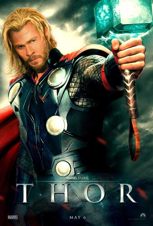 thor 2 movie poster chris hemsworth amp natalie portman thor 2