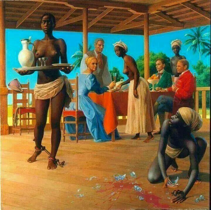 Рабовладельческий строй и феодализм как две ступени развития человечества: феодализм представлял более высокую