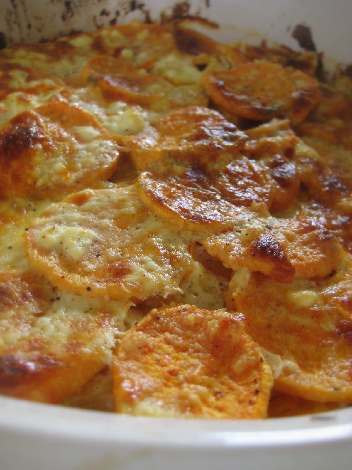 """Put a Lyd on it!"": Butternut Squash and Sweet Potato Gratin"