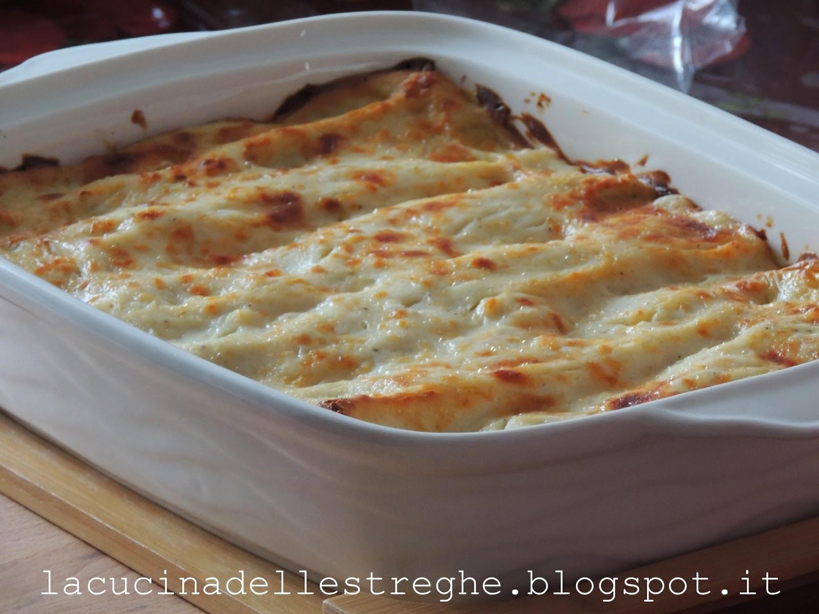 la cucina delle streghe: lasagne con carciofi e besciamella - Come Cucinare Le Lasagne