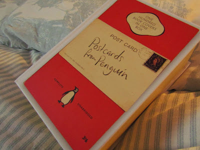 bookandacuppa, book and a cuppa, book & a cuppa, postcards from penguin, book covers, literary, home decoration, decor, ideas, fun, book lover, iconic design
