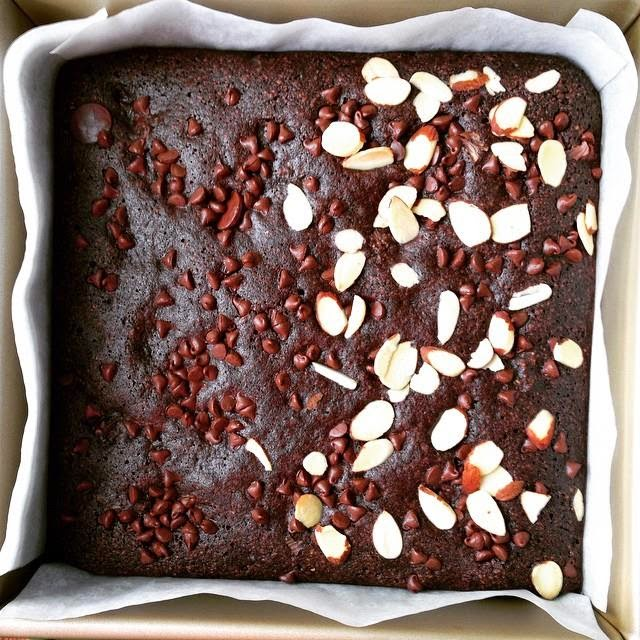 Fudgy No-Butter No-Flour Brownies