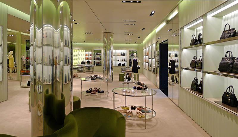 Smartologie Prada Opens New Store In Miami Florida Usa