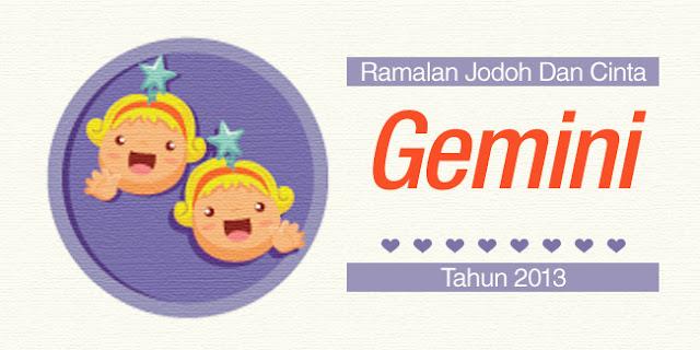 Bintang Gemini : Ramalan Jodoh Dan Cinta Tahun 2013