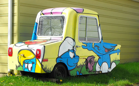 5 Ways To Boost Morale - Smurfmobile Art Car Central