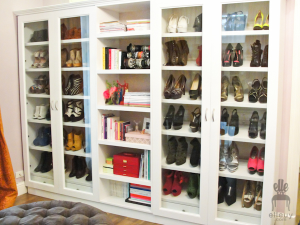 laureen uy, shoe closet, shoes, cabinet, beautiful shoe closet
