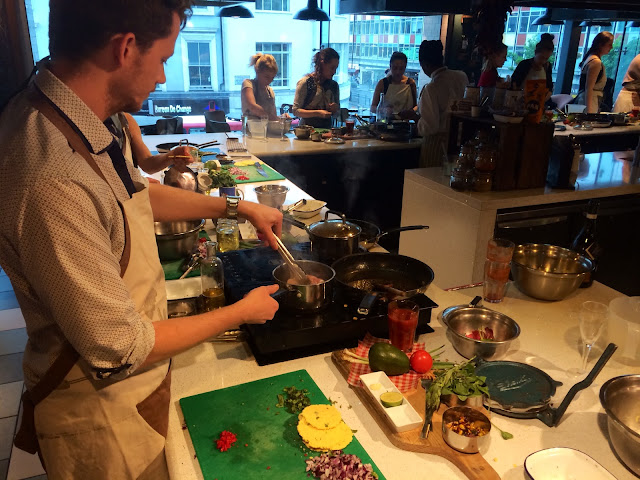 Jamie Oliver Recipease Mexican lesson review - Notting Hill - Bearded Couture