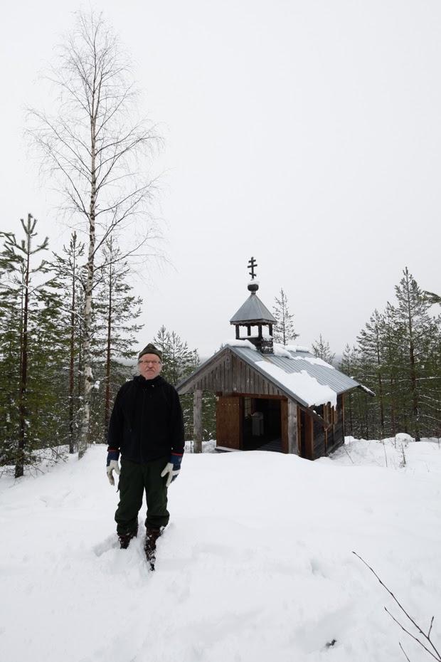 Kalevi Hokkila ja Valkeavaaran tsasouna