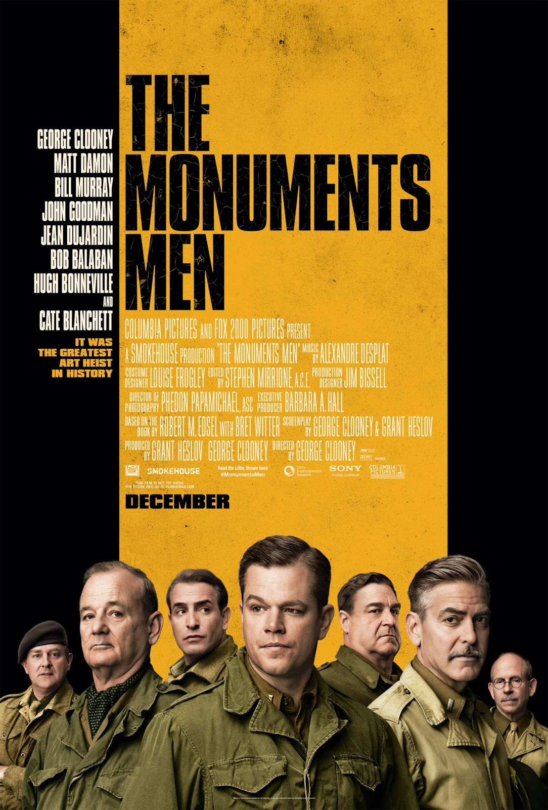 Regarder The Monuments Men en streaming