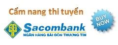 Cẩm nang thi tuyển Sacombank 2013