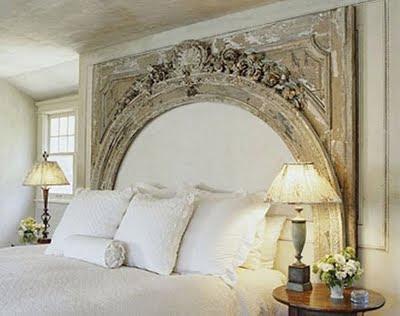 Decoración de interiores: ideas creativas cabecera de imitar una ...