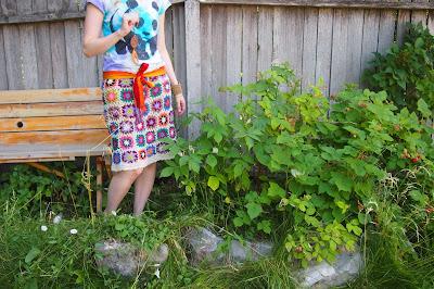 105 - Crochet Skirt Review
