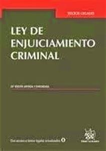 Textos Legales: Ley de Enjuiciamiento Criminal 2014.