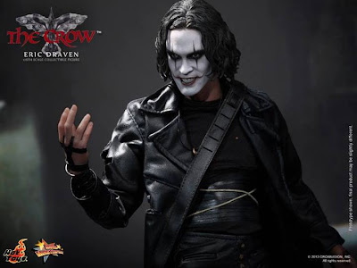 "Hot Toys 1/6 Scale The Crow 12"" Eric Draven Figure"
