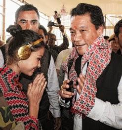 Bimal Gurung in Siliguri