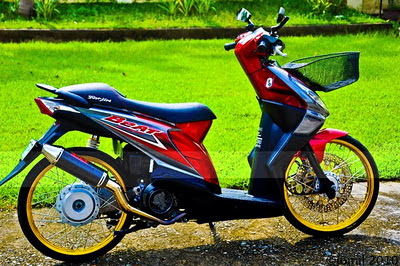 MODIFIKASI+HONDA+BEAT+9