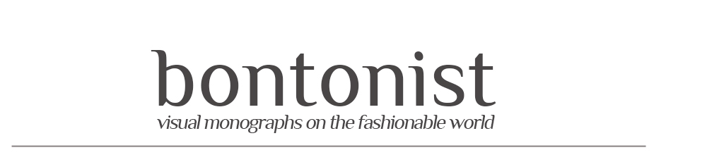 bontonist : visual monographs