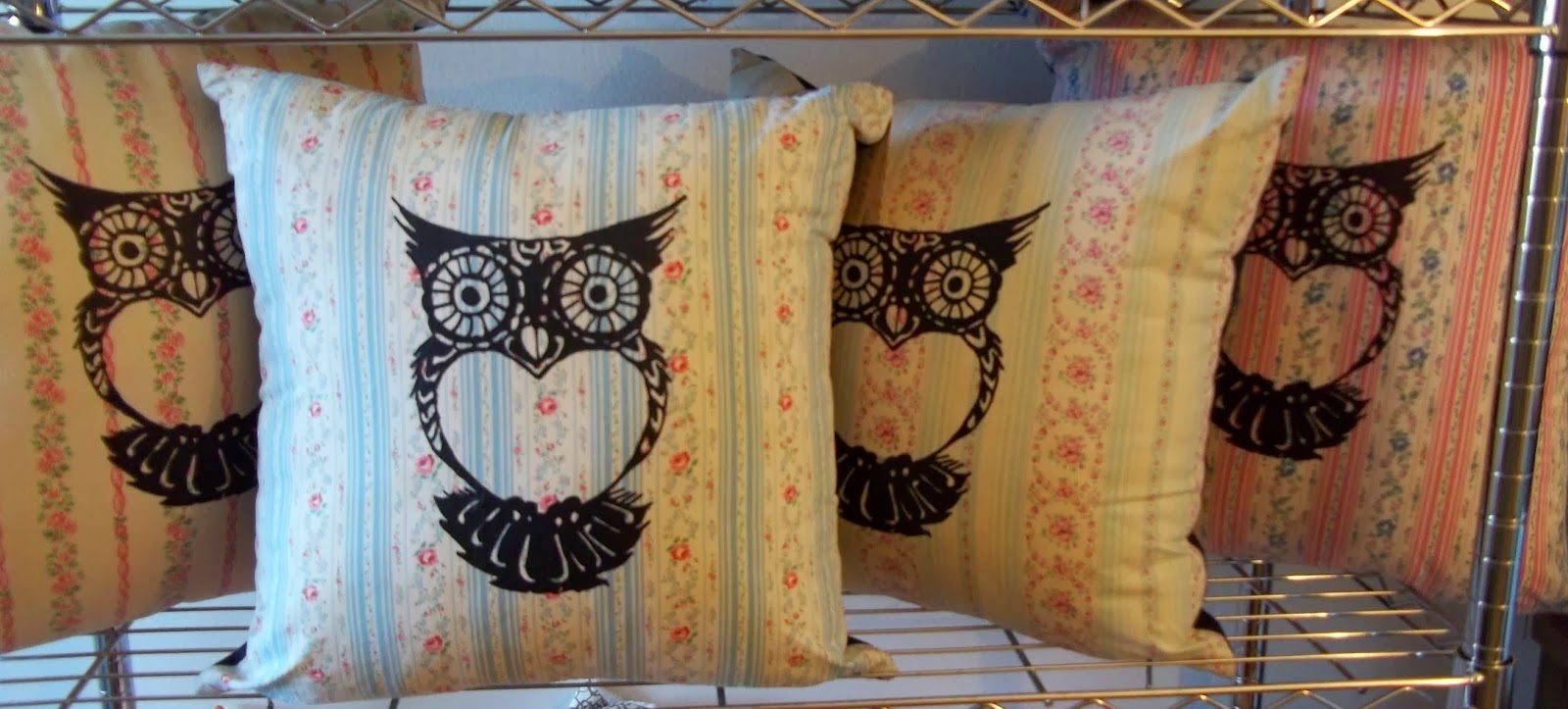 I love textiles especially vintage fabrics. I am fascinated by the history....