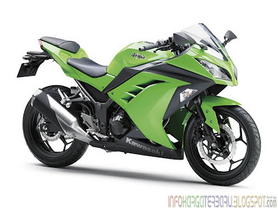 Kawasaki Ninja 300 ABS 2013 Harga & Spesifikasi Wow Banget !