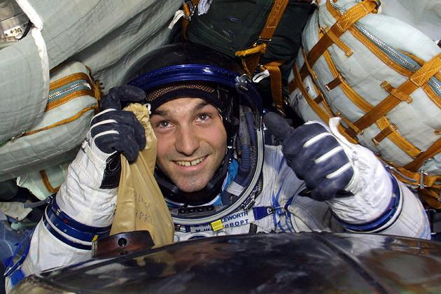Mark Shuttleworth no espaço