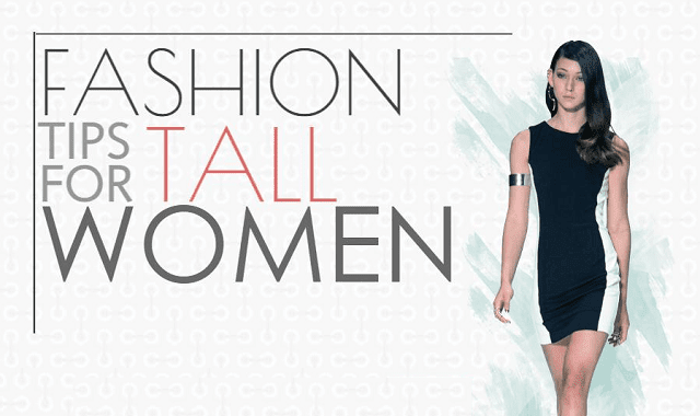 Fashion Tips for Tall Women #infographic ~ Visualistan
