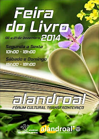 FEIRA DO LIVRO NO ALANDROAL - FORUM CULTURAL TRANSFRONTEIRIÇO