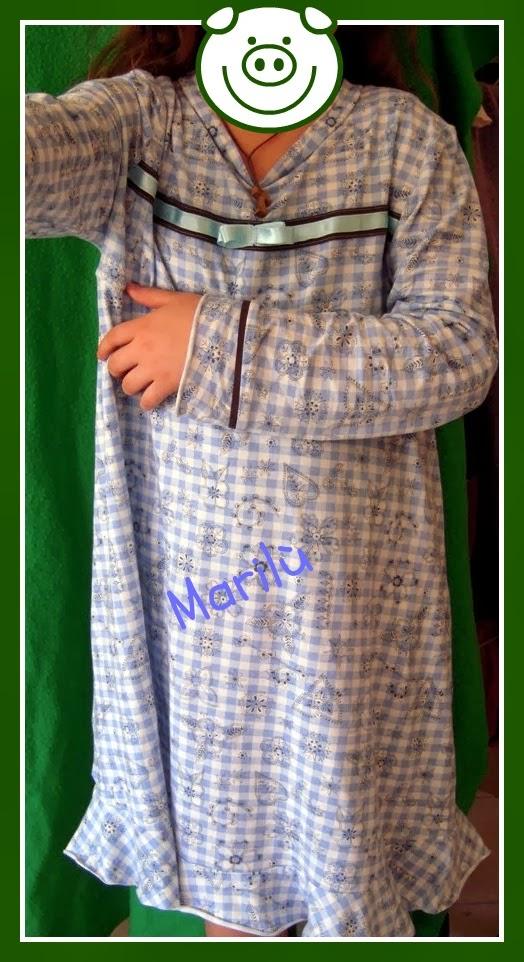 camicia da notte bambina