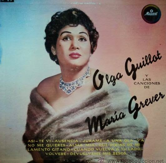 Olga Guillot Con El Cuarteto Los Ruffinos - La Insuperable