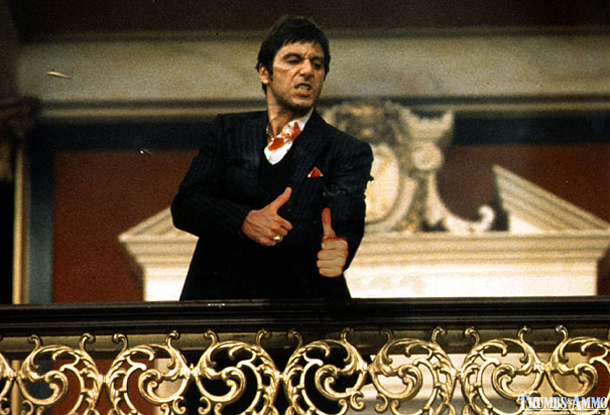 Thumbs and Ammo - Scarface - Al Pacino