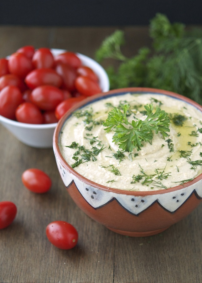 Herbed Hummus