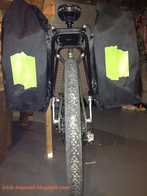 Sherpa for Mukluk with Ortlieb on Surly Ogre