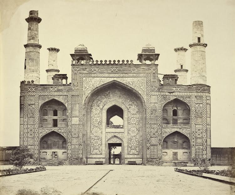 Gateway of Tomb of Akbar