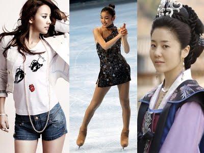 Lee Hyori, Kim Yuna e Go Hyun Jung