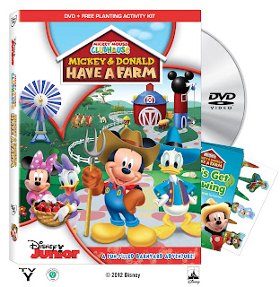 Mickey Mouse Clubhouse: Mickey and Donald Have a Farm Sorteo #MuyLatinas Disney Studios