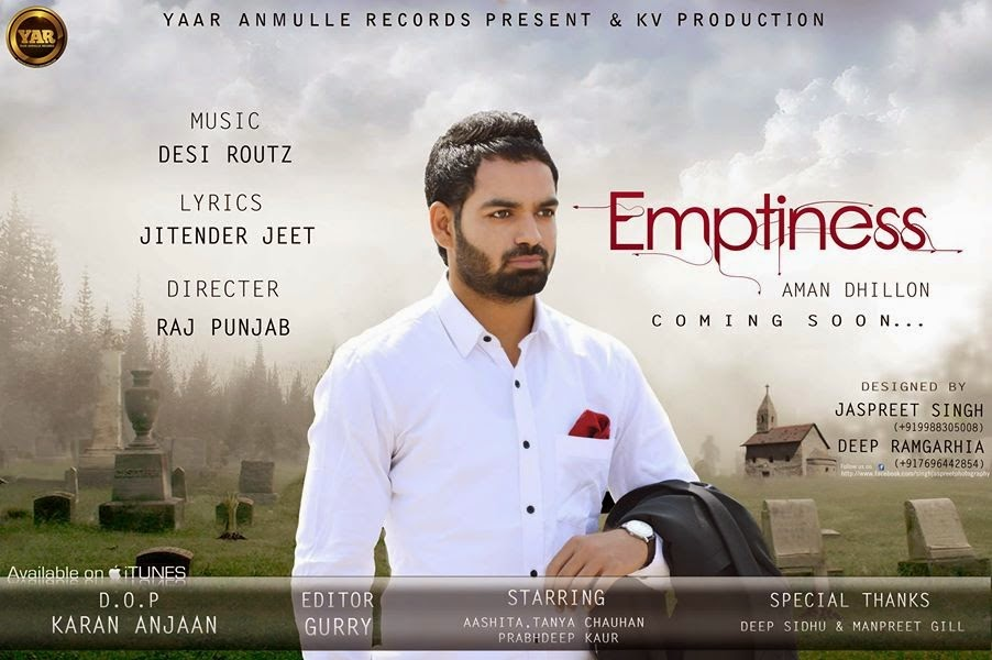 Emptiness-Aman-Dhillon-Full-HD-Video-Song-Mp3-Download-Lyrics-Yaar-Anmule-Records