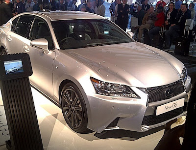 Lexus GS F Sport SEMA Show 2011