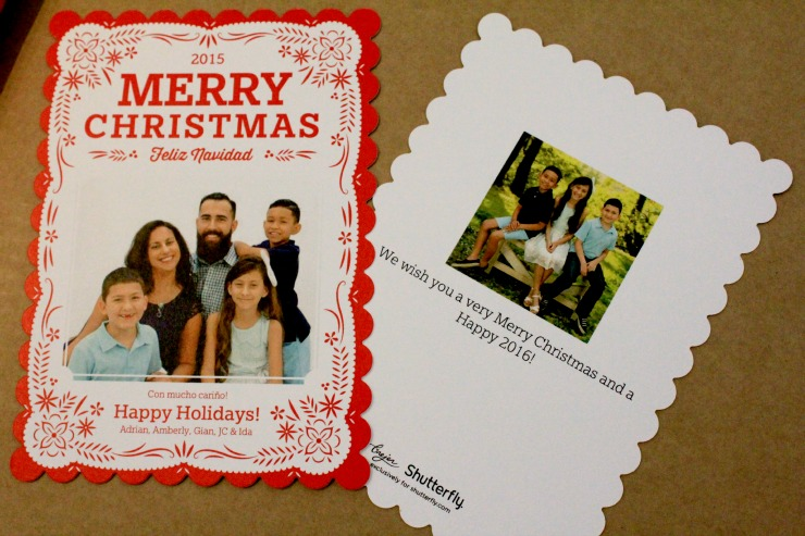 i made sure our holiday cards wished holiday greetings in both english and spanish shutterfly now speaks our language they now offer holiday cards and - Shutterfly Christmas Cards